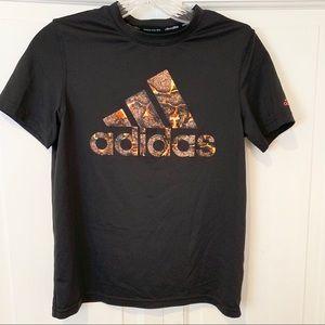 Adidas Short Sleeve Black Climalite Tee Medium